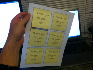 How To Print Custom Sticky Notes Impress Customers